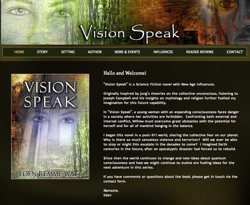 Vision-Speak-home-page
