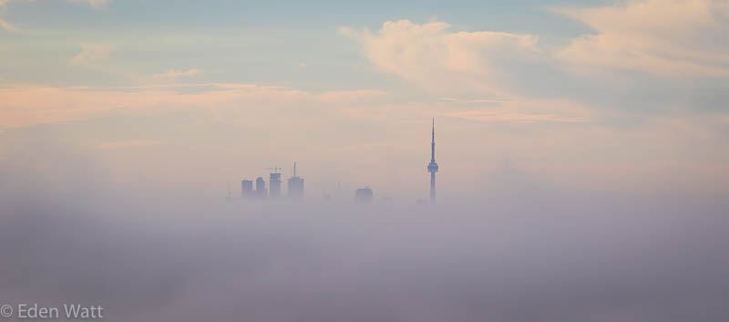 Toronto in the Clouds