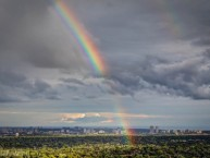 Rainbow-over-City