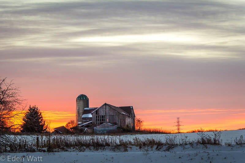 Sunset-Barn